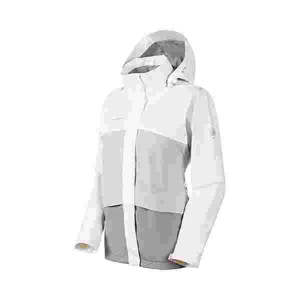 Mammut GORE-TEX Heritage Hooded Hardshelljacke Damen granit-highway-bright white
