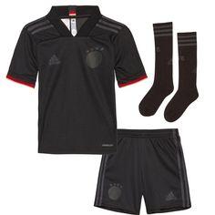 adidas DFB EM 2021 Auswärts Minikit Trainingsanzug Kinder black