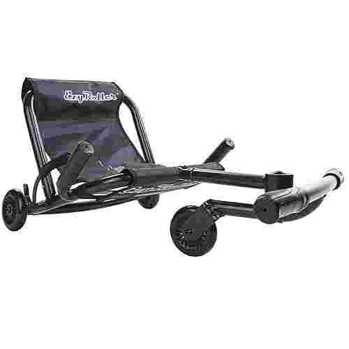 EzyRoller Classic Kinderfahrzeug Dreirad Trike Fun Scooter Kinder schwarz