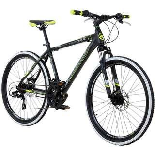"Galano Toxic 26"" Mountainbike Hardtail MTB Hardtail schwarz/grün"