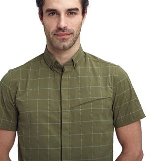 Mammut Mountain Shirt Men Funktionshemd Herren iguana-olive