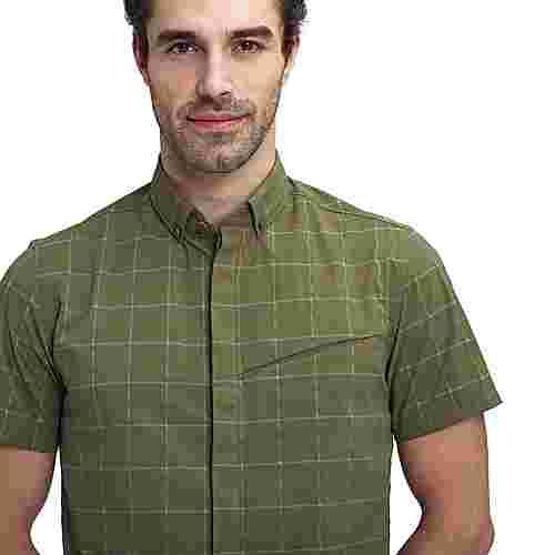 Mammut Mountain Shirt Men Funktionshemd Herren iguana-olive