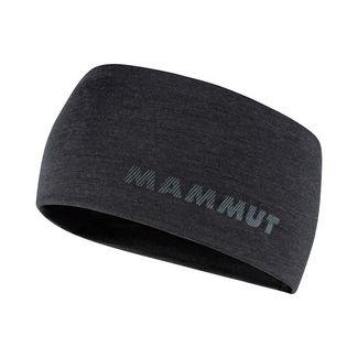 Mammut Merino Headband Stirnband black melange