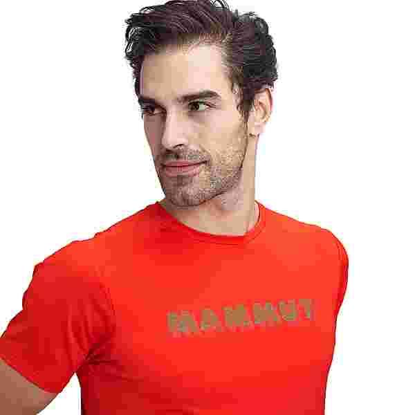 Mammut Splide Logo T-Shirt Herren spicy