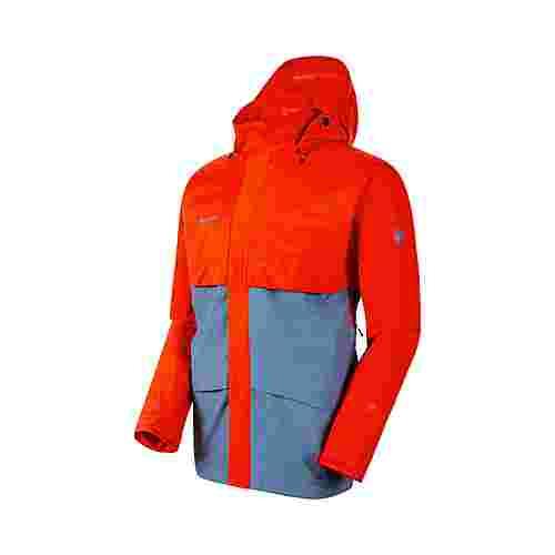 Mammut GORE-TEX® Heritage HS Hooded Jacket Men Hardshelljacke Herren horizon-spicy