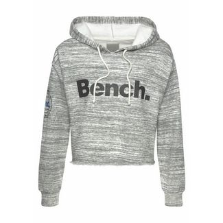 Bench Sweatshirt Damen grau-meliert