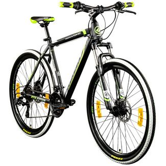 Galano Toxic 650B Mountainbike Hardtail 27,5 MTB Hardtail schwarz/grün