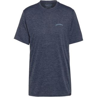 Patagonia CAP COOL DAILY GRAPHIC Funktionsshirt Herren playlands mountains-smolder blue x-dye