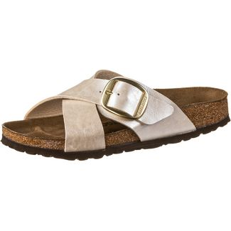 Birkenstock Siena Big Buckle Sandalen Damen graceful pearl white