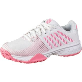 K-Swiss Express Light 2 HB Tennisschuhe Damen white-soft neon pink-blushing bride