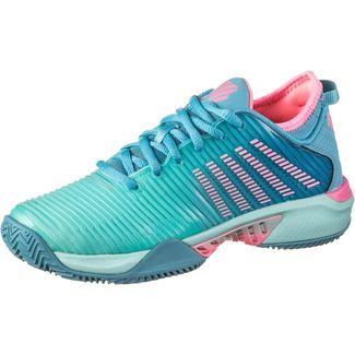 K-Swiss Hypercourt Supreme HB Tennisschuhe Damen arbua blue-maui blue-soft neon pink