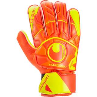 Uhlsport Dynamic Impuls Starter Soft Torwarthandschuhe dynamic orange-fluo gelb