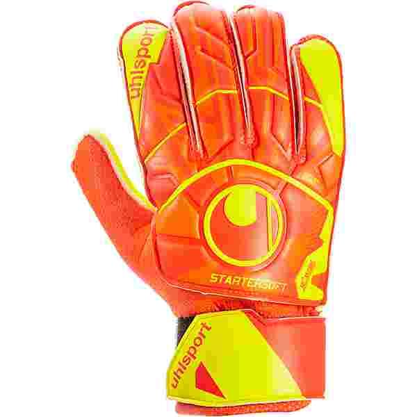 Uhlsport Dynamic Impuls Starter Soft Torwarthandschuhe dynamic orange-fluo gelb