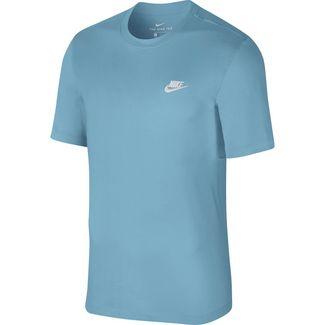 Nike NSW Club T-Shirt Herren cerulean-white