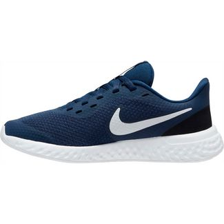 Nike Revolution 5 Laufschuhe Kinder midnight navy-white-black