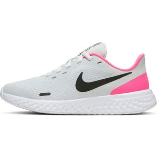 Nike Revolution 5 Laufschuhe Kinder photon dust-black-hyper pink-white