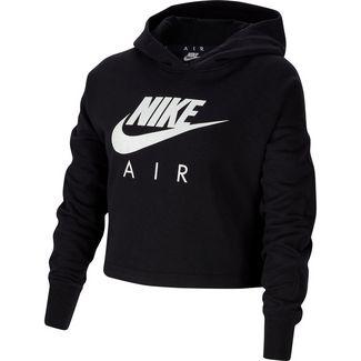 Nike Hoodie Kinder black-white-white