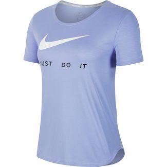 Nike Funktionsshirt Damen light thistle-reflective silver