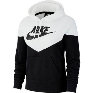 Nike NSW Hoodie Damen black-white-black