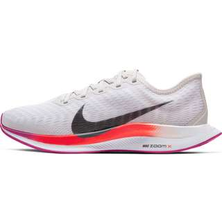 Nike Zoom Pegasus Turbo 2 Laufschuhe Damen vast grey-smoke grey-white-fire pink