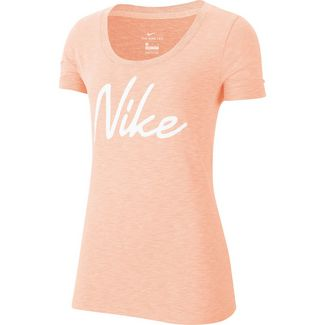 Nike Funktionsshirt Damen washed coral-htr-white