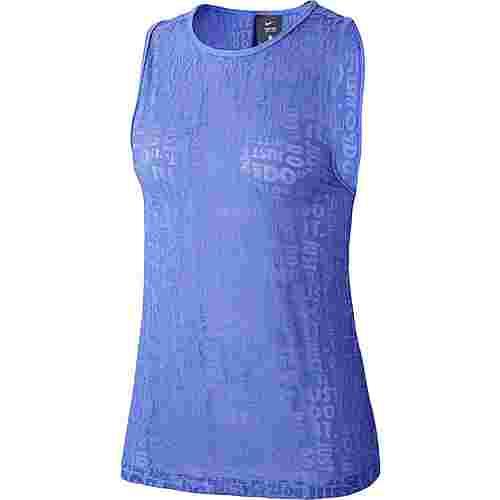 Nike Just Do It Funktionstank Damen persian violet-light thistle