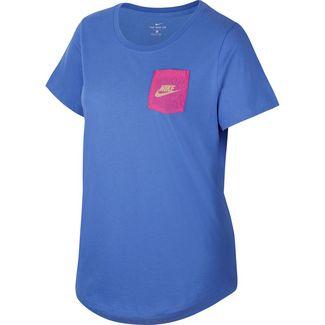Nike Plus Size T-Shirt Damen sapphire