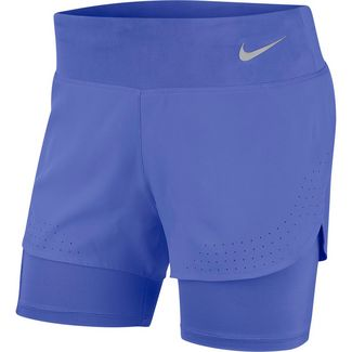Nike Eclipse Funktionsshorts Damen sapphire-reflective silver