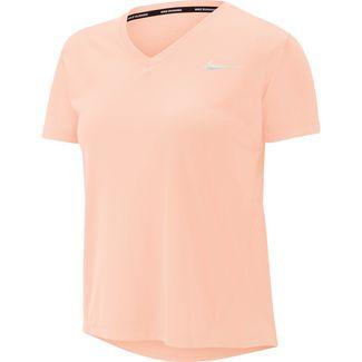 Nike Miler Funktionsshirt Damen washed coral-reflective silver