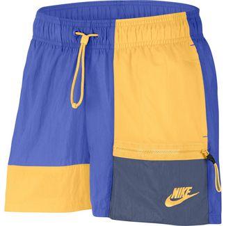 Nike NSW Icon Clash Shorts Damen sapphire-topaz gold-diffused blue