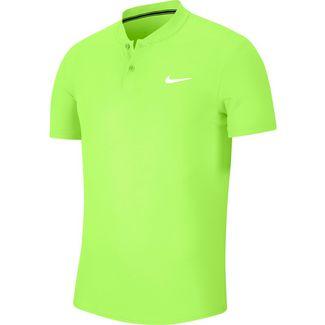 Nike Court Dry Poloshirt Herren ghost green-white