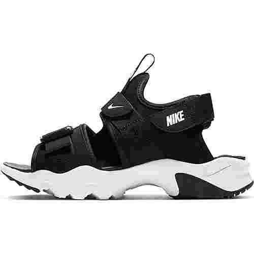 Nike Canyon Badelatschen Damen black-white-black