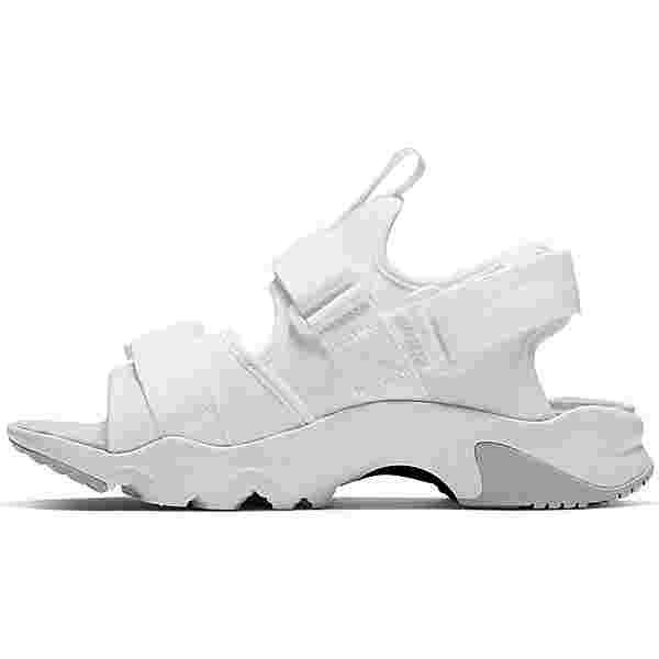 Nike Canyon Badelatschen Damen white-grey fog