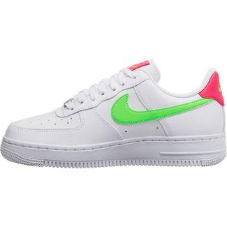 Nike Air Force 1 ´07 Sneaker Damen white-laser crimson-green strike