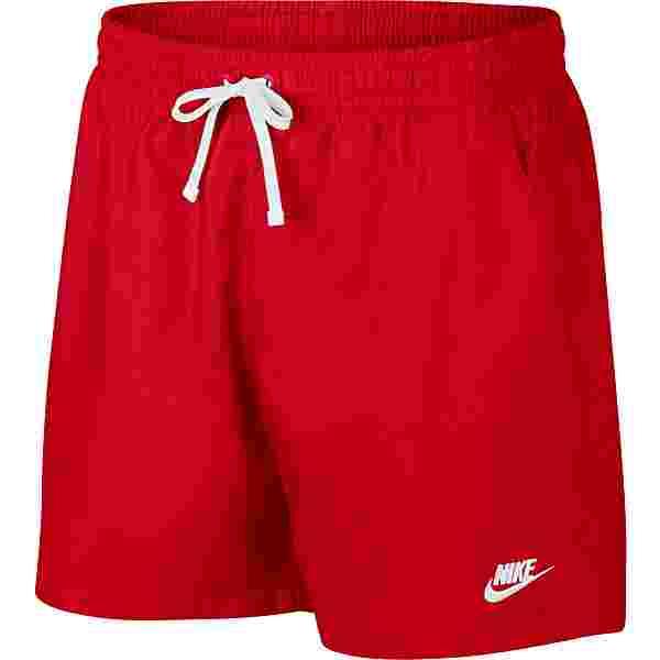 Nike NSW Badeshorts Herren university red-white