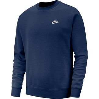 Nike NSW Club Sweatshirt Herren midnight navy-white