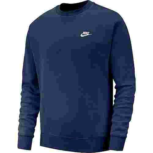 Nike NSW Club Sweatshirt Herren midnight navy-white