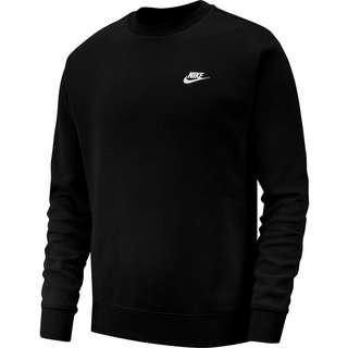 Nike NSW Club Fleece Sweatshirt Herren black-white