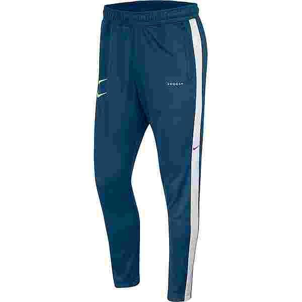 Nike NSW Swoosh Sweathose Herren blue force-white-black-barely volt