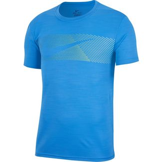 Nike Dry Superset Funktionsshirt Herren pacific blue-pacific blue-black