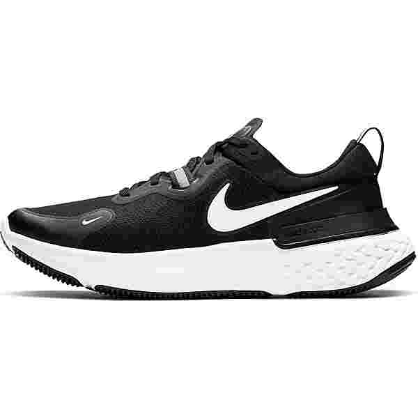 Nike React Miller Laufschuhe Herren black-white-dark grey