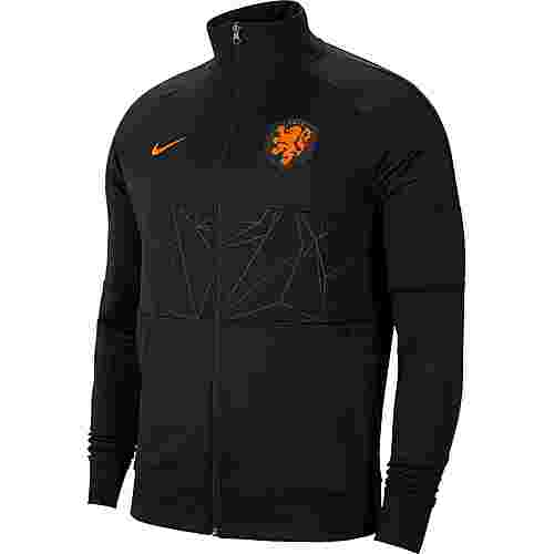 Nike Niederlande 2021 Trainingsjacke Herren black-black-black-safety orange