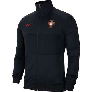 Nike Portugal 2021 Trainingsjacke Herren black-black-black-sport red
