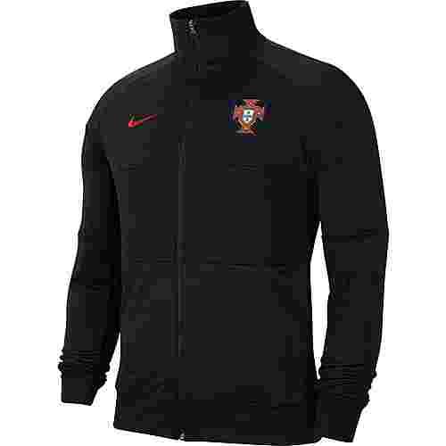 Nike Portugal 2021 Trainingsjacke Herren black-black-black-sport red