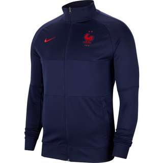Nike Frankreich 2021 Trainingsjacke Herren blackened blue-university red