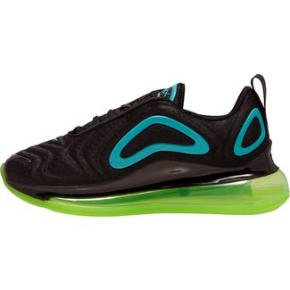 Nike AIR MAX 720 Sneaker Kinder black-oracle aqua-electric green