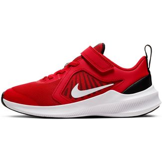 Nike DOWNSHIFTER 10 Laufschuhe Kinder university red-white-black-white