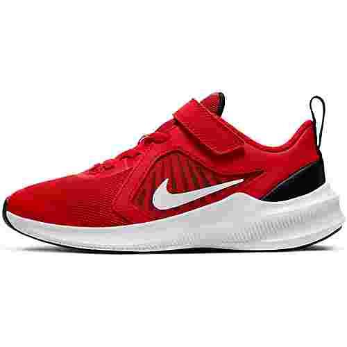 Nike DOWNSHIFTER 10 Laufschuhe Kinder university red-white-black-white