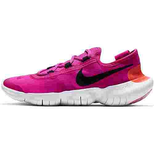 Nike Free RN 5.0 Laufschuhe Damen fire pink-black-magic ember