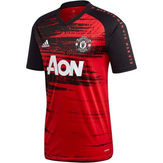 adidas Manchester United Funktionsshirt Herren real red
